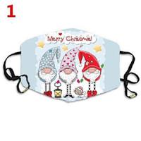 Рождественские маски для лица напечатанные рождественские маски для лица против пыли тумана снежинка покройте рта дышащая стиральная REU