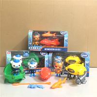 3 октана октябрь осмотры автомобилей лодочные судовые игрушки капитан санклесных кабин Kwazii Shellington детей лучший подарок LJ200928