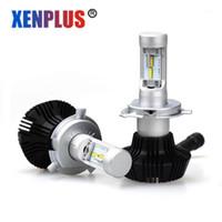 Xenplus LED المصباح H4 H11 H1 H3 9005 9006 880 H7 ZES 8000LM ارتفاع منخفض شعاع سوبر مشرق ضوء المصابيح الكهربائية 12 فولت 50W1