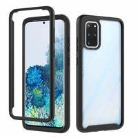 360 protect Armadura capa para Samsung Galaxy Nota 20 tampa da caixa de telefone Ultra para Samsung S20 Lite s10 mais A71 A51 A20 A01