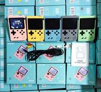 800 في 1 المحمولة المحمولة ألعاب الفيديو وحدة الرجعية 8 بت صغير لعبة اللاعبين ألعاب 3 بوصة ألعاب AV مع اللون LCD مع حزمة البيع بالتجزئة