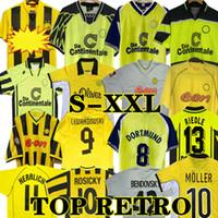 Retro 12 13 Lewandowski Soccer Jerseys 98 99 00 02 Classic Football Shirts خمر Rosicky Bobic Koller 01 02 95 96 97 94 95 Reus Möller