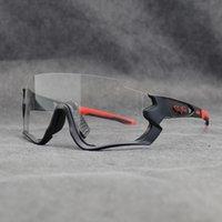 Photochromen Objektiv UV400 Rennrad Brille Männer Frauen 2020 Sport Radfahren Brillen Laufen Reiten Angeln Sonnenbrillen Fahrrad Brillen