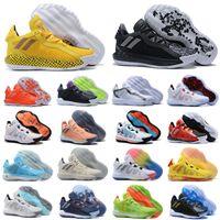 2020 Nuevo Damian Lillard VI Suede 6S 6 6º Bruce Lee Zapatillas de baloncesto Zapatos para hombre Zapatillas deportivas Dame Trainers Sneakers