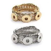 Браслеты очарования мода металл 108 старинные эластичные 12 мм 18 мм привязки привязки браслет браслет взаимозаменяемые украшения для женщин мужчин подарок1