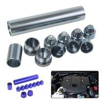 Новый 11pcs / Set Алюминиевый сплав Топливный фильтр автомобиля Замена запасной Trap автомобилей Растворитель для 1 / 2-28 Napa 4003