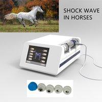 Équipement de thérapie à ondes de chocs équine d'instruments vétérinaires pour chevaux avec 5 pcs taille différente de conseils