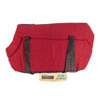 PET PET PET LUCE CARRIER / Dog Comfort Black Travel Bag Rose Red M
