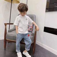 New 2021 Cotton Kids T-Shirt Children Summer Short Sleeve T-Shirts for boys Girls Baby T Shirt Toddler Tops Clothing