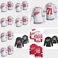 Reverse Retro Detroit Red Wings 13 Pavel Datsyuk Jersey 2021 Hockey 71 Dylan Larkin 59 타일러 Bertuzzi 39 Anthony Mantha 14 Robby Fabbri