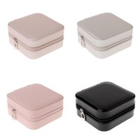 Jewelry Box Portable Storage Organizer Zipper Portable Women...