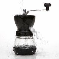 حار دليل طاحونة القهوة مع تخزين جرة لينة فرشاة القهوة مطاحن مخروطية السيراميك لدغ هادئة ومحمولة البحار الشحن EEF3932