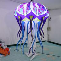 풍선 해파리 inflatables 풍선 졸리 led 스트립 및 CE 송풍기 koremedia dell'arte 마스크 장식