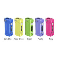 최신 버전 원래 정통 Yocan 유니 유니 S는 최신 5 색 510 스레드 배터리 박스 vape 조절 조리개 기화기를 MOD 프로