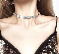 Freeze Jóias Swarovski Colar Element Sterling Silver Colar de cristal Gargantilha Strass Conjunto de jóias Wed Nupcial Personalizar Colar