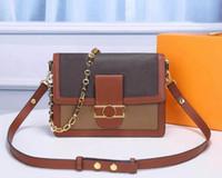 Alta Qualidade Bolsas De Ombro Dauphine Bolsas Crossbody Mulheres Mens Carteiras de Alta Qualidade Alta Qualidade Totes Hobo Duffle Saco Postman Bag