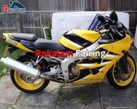 Aftermarket Kit Fairing 00 01 02 ZX-6R For Kawasaki Ninja ZX6R 2000 2001 2002 Yellow Motorcycle Fairings Kits (Injection Molding)