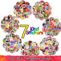 100 adet Rastgele Sıcak Graffiti Anime Kaya Retro Komik Çıkartmalar Ergen Çocuk Vinil Aplike Hediye DIY Dizüstü Gitar Bagaj Paten Çıkartmalar