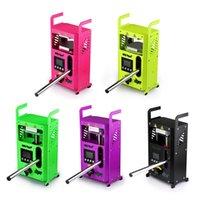 Аутентичные LTQ VAPO PAPOR KP4 PRESSER 5 Цветов Rosin Press Machine Wax Herb Squeezer Dabber Регулируемая температура Электрический набор инструмента