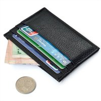 Mens Card Holder lowest price Slim Credit Card Holder Mini W...