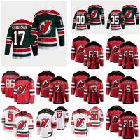 مخصص New Jersey Devils Palmieri Kyle 21 Severson Damon 28 Sharangovich Yegor 17 سميث تاي 24 Subban P.K. 76 الرجال النساء غرزة الشباب