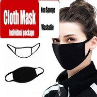 Máscaras de PM2.5 de valores de EE.UU. Orgánica laboratorios cara con la respiración 100% algodón lavable de tela reutilizables Las curvas de protección contra el polvo Polen Caspa de animales domésticos