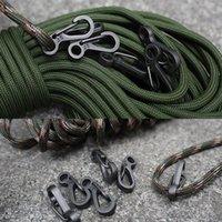 5 pz / lotto Mini moschettone Camping EDC Survival Arrampicata SF Spring Backpack a molla Portachiavi Keychain Paracord Tactical Gash Gancioli K Jllldc