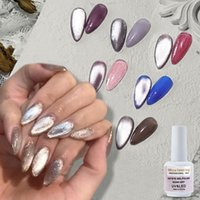 1pc 15ml Cat Eye Gel UV faísca Nail Polish Starry Sky Jade Efeito Nail Art laca de Longa Duração Soak Off Led Varnish
