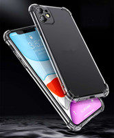 Lusso antiurto Silicone Case per iPhone 11 12 Pro Max 7 8 6s Plus SE 2020 per l'iPhone X Xr Xs Max trasparente Back Cover