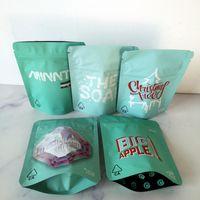 7G 28G 3 5G Biscotti Borse Mylar Borse odore borse a prova di sapone Minntz Grandiflora Bianco Runtz Big Mele Pacchetto albero di Natale