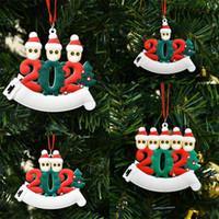 Décoration de Noël en plein air arbre pendentif papier toilette ornements collier pendentif cadeau Bijoux Chaînes famille 2020 Whole 6 99zb F2