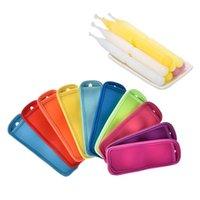 Antifreezinking Popsicle Çanta Dondurucu Popsicle Sahipleri Kullanımlık Neopren Yalıtım Buz Pop Kollu Çanta Çocuklar için Yaz Mutfak TOO 104 J2