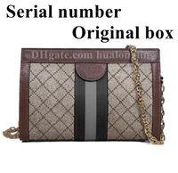 Frau Tasche Handtasche Original Box Seriennummer Code Leder Hohe Qualität Kreuz Körper Mode Dame Geldbörse Messenger Bag