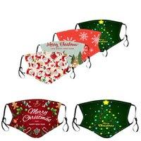 Maschera di Natale Cotton Ear Corda Ear Corda Per Bambini per adulti Traspirante Modello morbido Designer Maschere per il viso