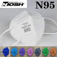 N95 NIOSH Máscara de EE.UU. lista blanca Mascarilla Diseñador YWSH KN95 filtro respirador Anti-Fog Haze y Influenza dustroof reutilizable de calidad superior 5 capa