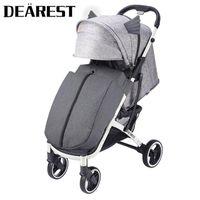 عربات الأطفال # عربة طفل خفيفة الوزن قابلة للطي والجلوس مستلق عربة أربعة عجلة امتصاص مناظر طبيعية عالية