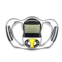 Accessoires Analyseur de graisse numérique peut-on la mémoire 9 Personne Profile Portable écran LCD écran de poche BMI Testeur Peau Caliper Corps Skin