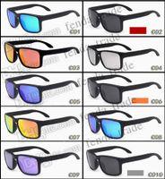 تعزيز حار بيع ماركة الاستقطاب النظارات الشمسية الرجال النساء الرياضة الدراجات نظارات نظارات نظارات 10 ألوان خيارات موك = 10PCS ترقية