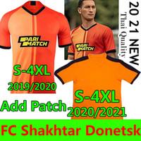19/20 FC Shakhtar Donetsk Soccer Jersey Mailleot De Football Shirts 2021 Chándal de Fútbol Solomon Junior Moraes Marlos 4xl