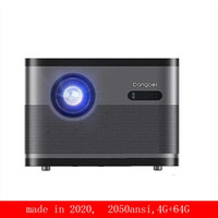 DLP projector home high- definition smart video projector mob...