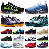 tn plus deportivas de calidad superior BAUHAUS OPTICAL triple negro moda para hombre zapatillas deportivas transpirables zapatillas de deporte tamaño 40-45