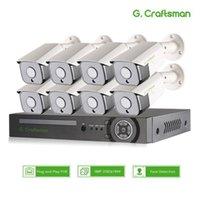 XMEYE 8CH سوني 5MP اكتشاف الوجه poe ip كاميرا الأمن نظام أطقم 335 الصوت للماء CCTV مراقبة الفيديو AI Onvif NVR1
