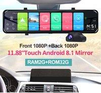 """EmplotBJ 12 """"Streaming Streaming Specchietto retrovisore Auto DVR 4G Dual 1080P Dash Cam Video Recorder ADAS GPS Navigation Auto Car Camera1"""