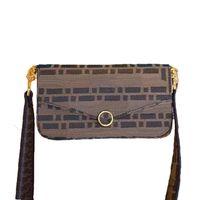 3 set Bolso de la cintura de los hombros para mujer Diseñador Monedero con cadena Ladies Moda Bolsas de aleta de calidad Top Diseñadores Bolsas de Crossbody