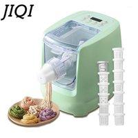 Elektrische Automatik Nudelpresse Maschine mit 13 Mold Gemüsekorn-Nudeln Dumpling Maker Pasta Spaghetti Cutter Teig Mixer1