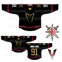 Vegas Golden Knights Gold Jersey 7 Alex Pietrangelo Marc-Andre Fleury Mark Stone Max Pacioretty Karlsson Reilly Smith Marchessault Tuch
