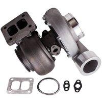 De haute qualité GT45 T4 V-Band Universal Turbocompresseur 1,05 A / R 600 + 98mm SPLI Boost de mise à niveau tout prix de vente Racing