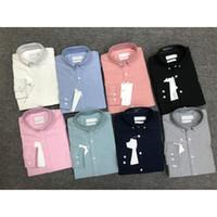 Primavera e autunno uomo di alta qualità Business Business Business Business T-Shirt classica ricamo da uomo New Fashion Camicia a maniche lunghe da uomo