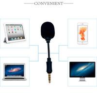 Mini microphone de microphone de capacitance de jack de 3,5 mm pour téléphone portable PC portable ordinateur portable de portable haut-parleur Thread de vis / mono / stéréo / 4 pôles micro