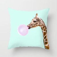 Estuche de almohada de dibujos animados animal impreso tiros almohadas cojín cubierta decorativo perro flamenco unicornio jirafa elefante hogar deco 151 k2